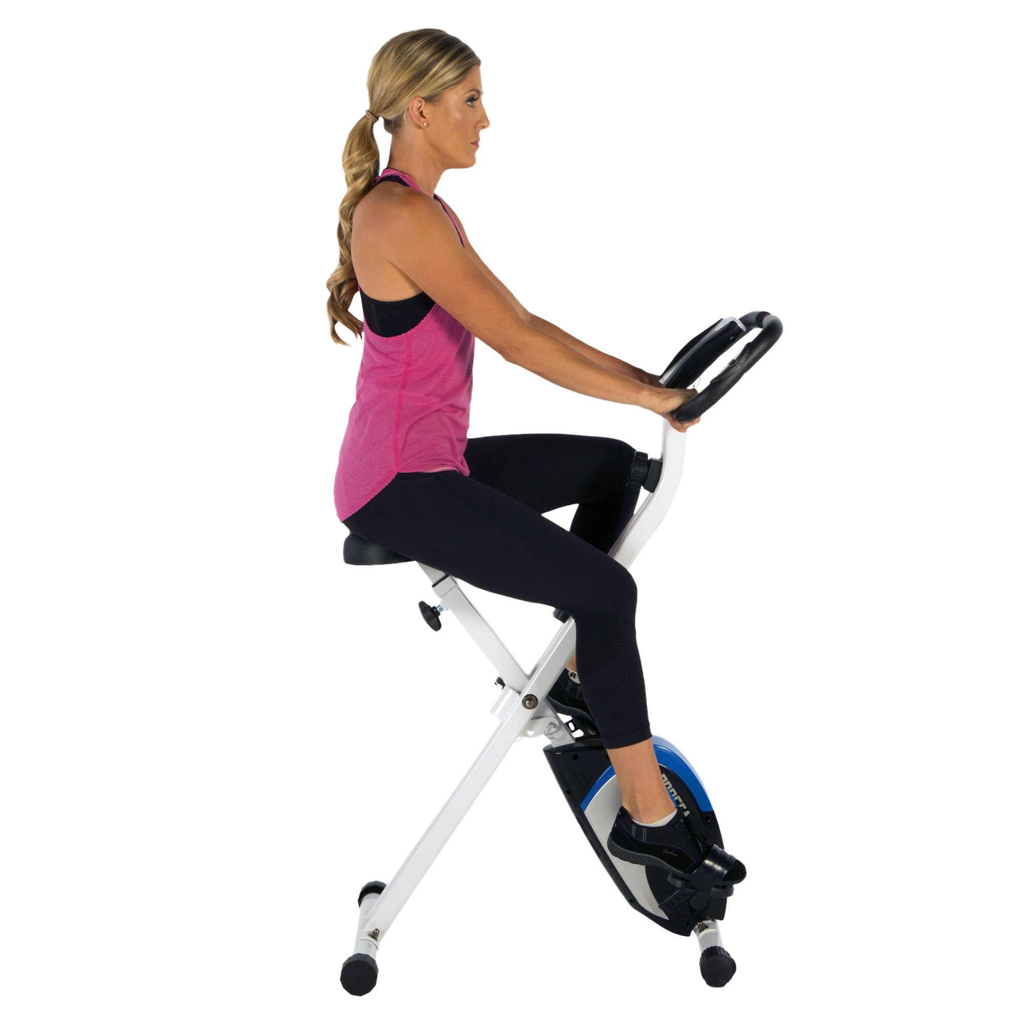 ProGear 225 Folding Magnetic Upright Exercise Bike with Heart Pulse by ProGear (Image #7)