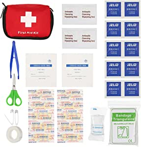 First Aid Medical Kit, 35PCS Portable Survival Mini Emergency Bag, All Purpose for Car Home Picnic Camping Travelling Emergency Rescue Safety Outdoor