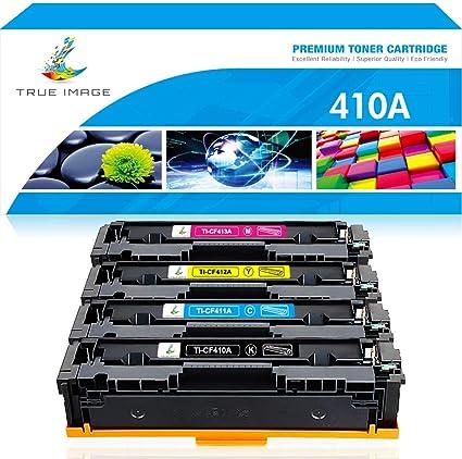 4 Pack CF410A CF411A CF412A CF413A Toner For HP 410A Cartridge LaserJet M452nw