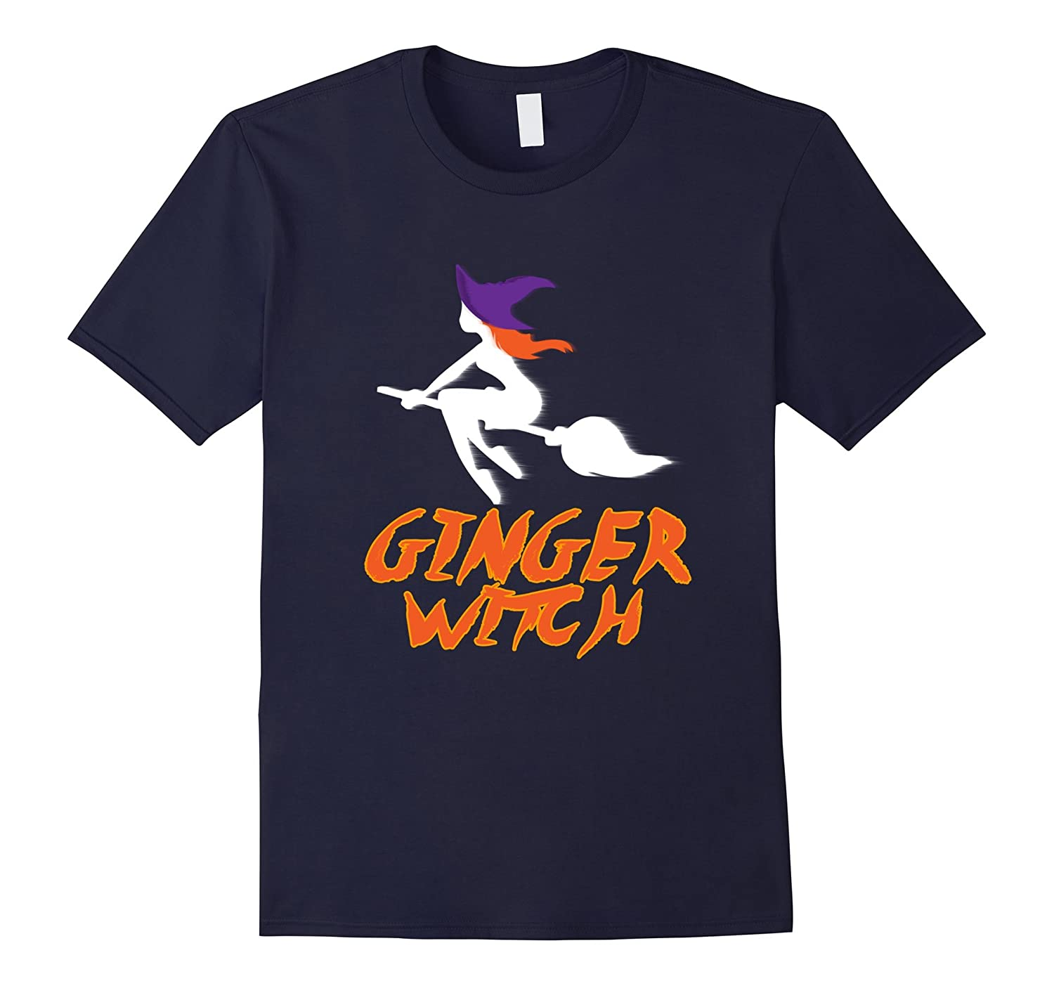 Funny Ginger Witch T-shirt Witchcraft Meme Orange Hair Quote