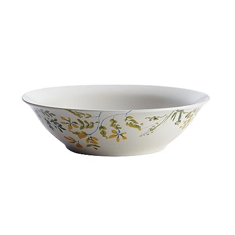 Paula Deen Garden Rooster Stoneware Round Dinnerware Serving Bowl 10u0026quot; ...  sc 1 st  Amazon.com & Amazon.com | Paula Deen Garden Rooster Stoneware Round Dinnerware ...