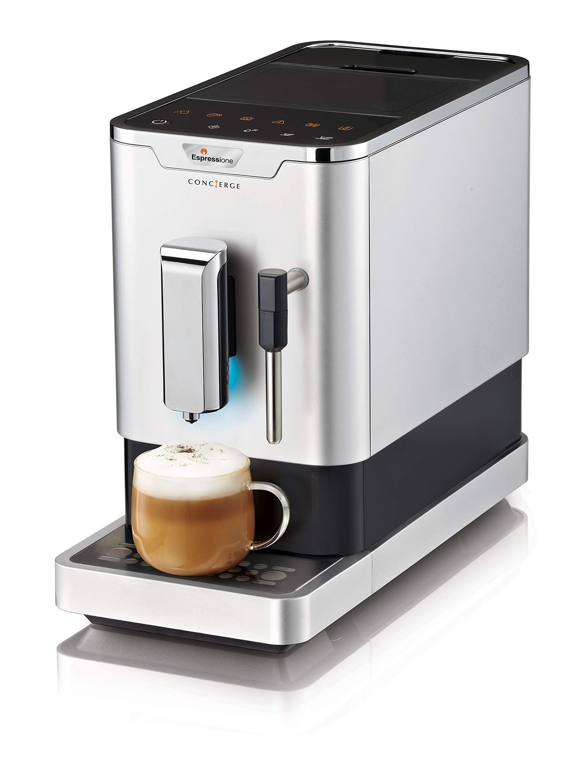 Espressione 8212S Fully Automatic Espresso Machine Silver by Espressione