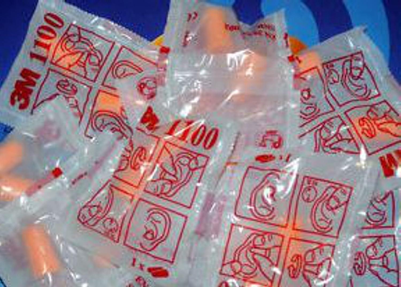 Bouchons auriculaires à usage unique 3M Art. 1100Pour La Protection delludito 5Couples 3M 1100