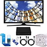 "Samsung UN40M5300 40"" LED 1080p 5 Series Smart TV Bundle includes TV, 2 HDMI Cables, 16GB Flash Drive, Screan Cleaner, Surge Adapter, and HD Digital TV Tuner with Recording"
