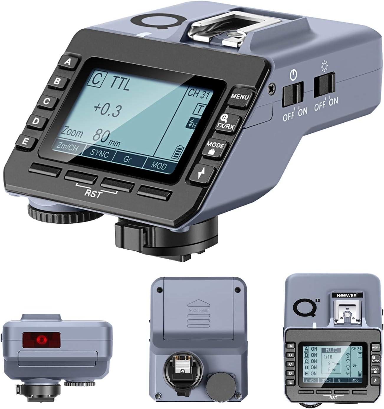 Neewer Q S Ttl Funkblitzauslöser Kompatibel Mit Der Kamera