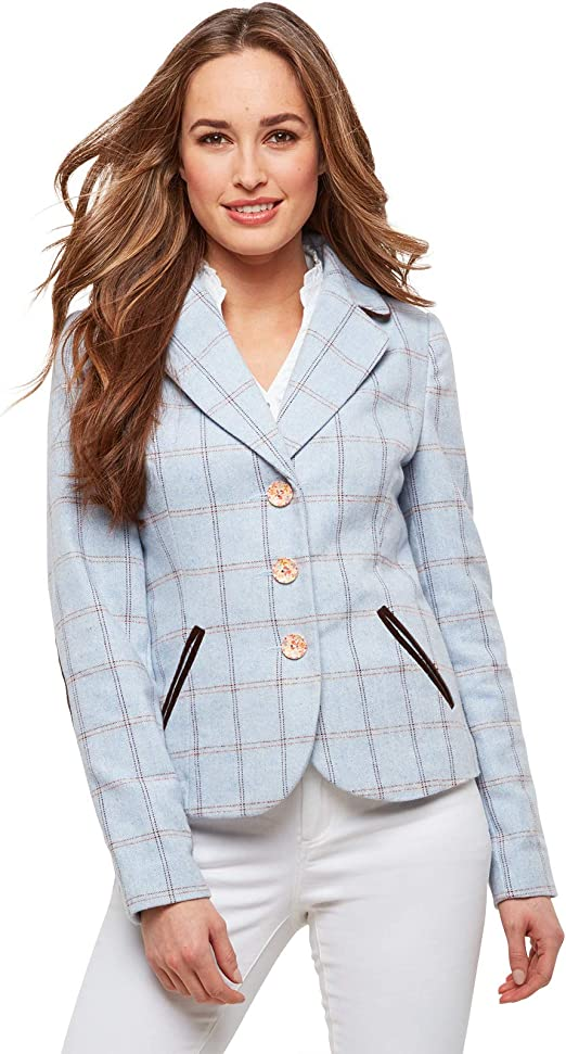 Joe Browns Womens All Over Check Button Up Waistcoat