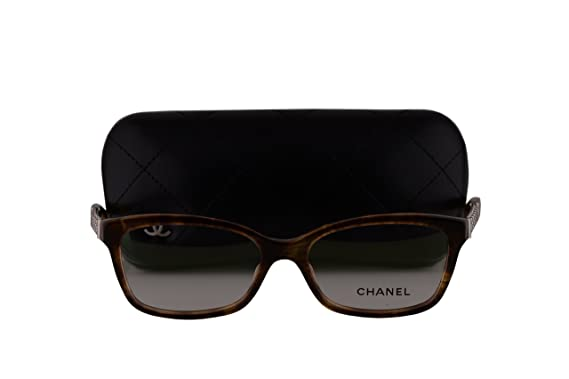 Amazon.com: Chanel CH 3318 Eyeglasses 52-16-140 Striped ...