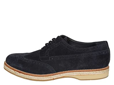 8940I scarpe uomo blu PRADA old english scarpa shoes men [8.5] 5z2itmYUss