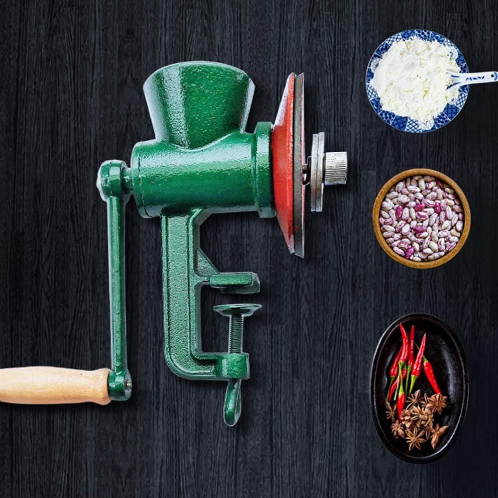 frijoles ma/íz caf/é trigo herramienta de molienda de molino de frijol mungo de cocina para el hogar ampliamente utilizado para granos pimienta frijoles Molinillo de grano manual nueces man/í