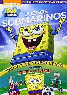 Bob Esponja Una Navidad Esponjosa DVD Amazones Bob Esponja