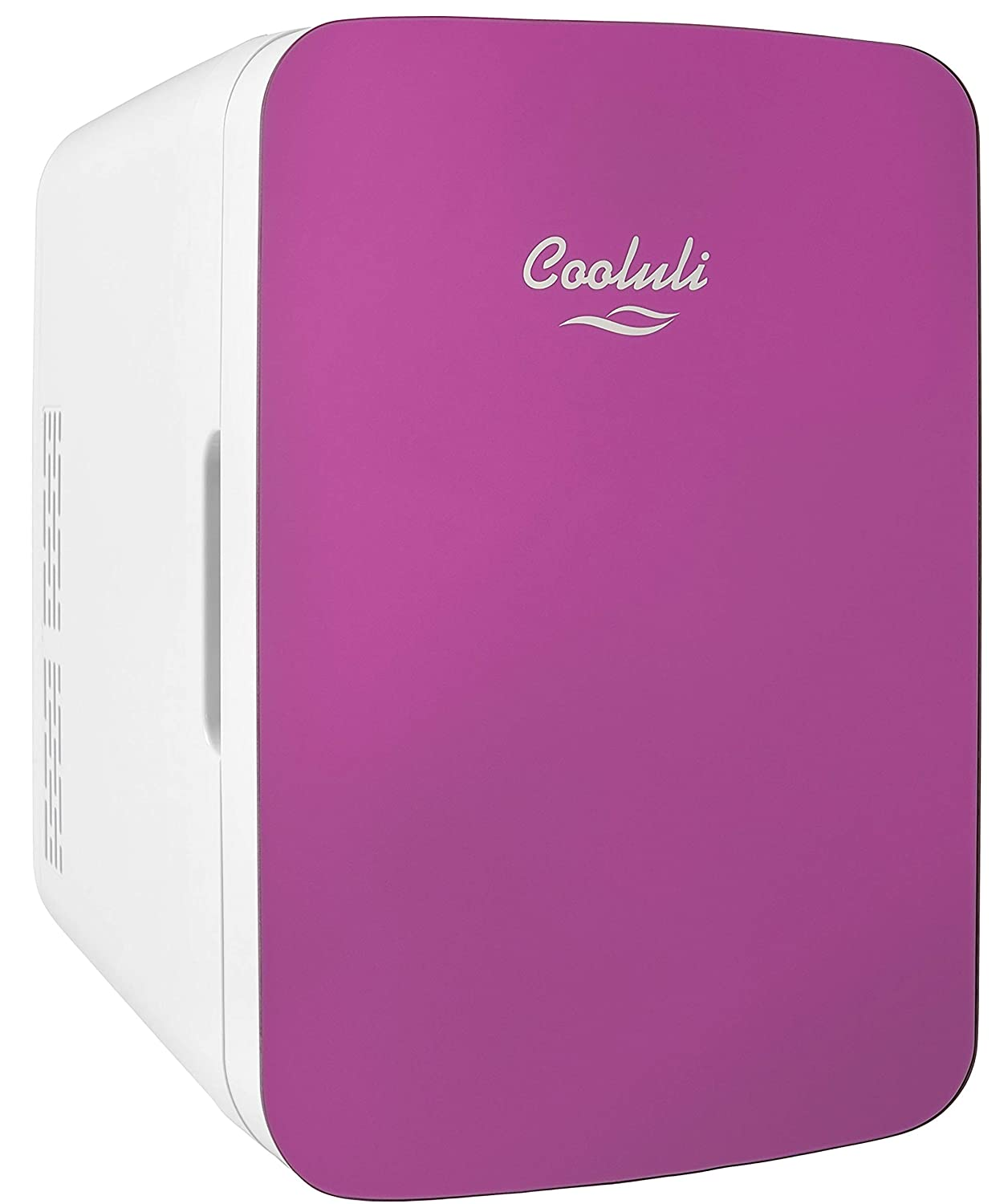 Cooluli Infinity 10-liter Compact Cooler/Warmer Mini Fridge for Cars, Road Trips, Homes, Offices, and Dorms (Pink)