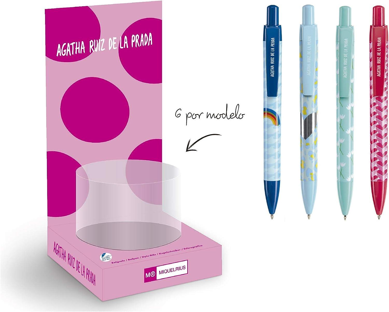 Agatha Ruiz de la Prada Expositor 24 bolígrafos