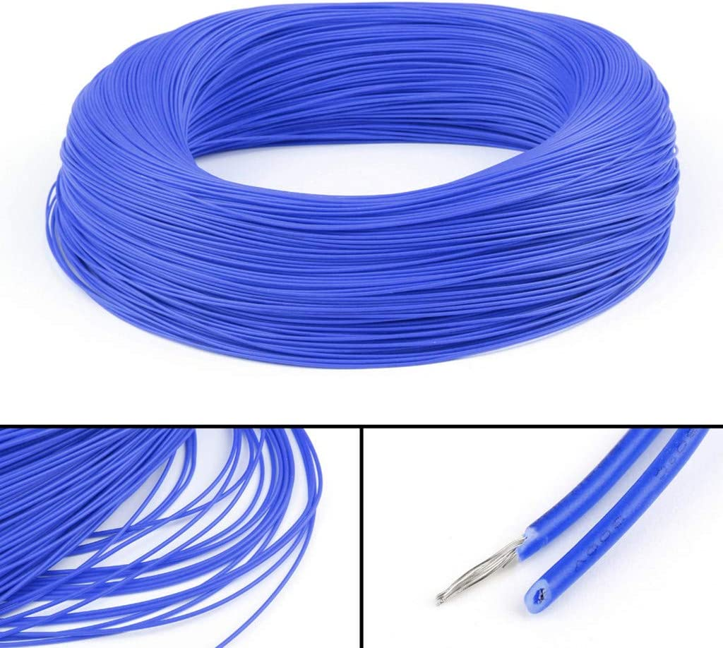 Cable Length: 5m, Color: Blue Occus UL1007 20AWG Cable Stranded Flexible Hookup Wire Cord Electric Line Blue 3//5M for Internal Wiring in Electric#YL
