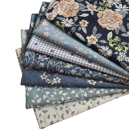 7 piezas 40 x 50 cm diferentes patrones de tela de retazos ...