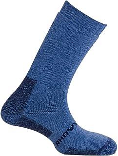MUND Himalya Antibacterias - Calcetines para Hombre, Color Azul