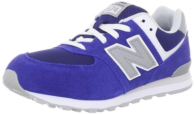 Exclusivo para la venta New Balance 574 Series GS KL574RBG Blue Youths Trainers Size 39 EU Venta barata 2YaFHcKHd