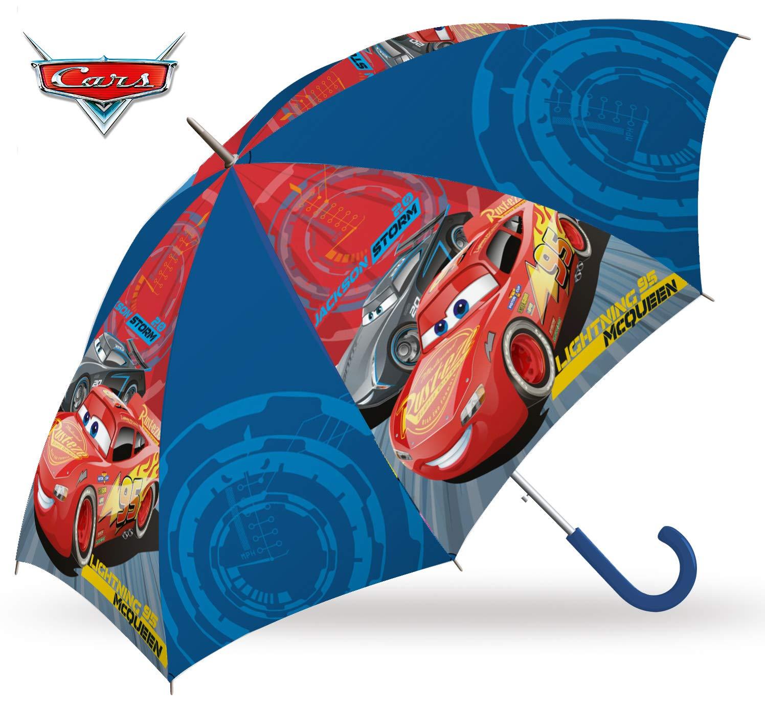 Cars 2018 Parapluie Canne, 55 cm, Multicolore (Multicolor) KD-WD19067