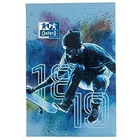 Oxford Sport Spirit Agenda Scolaire Journalier 2018-2019 1 Jour par Page 352 Pages 12 x 18 cm motif Skate