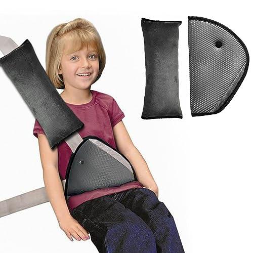 Correa de cinturón de seguridad cover, infreecs Kids seguridad coche cinturón de seguridad Hombreras cojín cuello apoyo cinturón de seguridad con clip