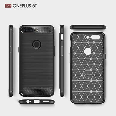 Amazon.com: OnePlus 5T Funda, Light Slim OnePlus 5 Soft Case ...