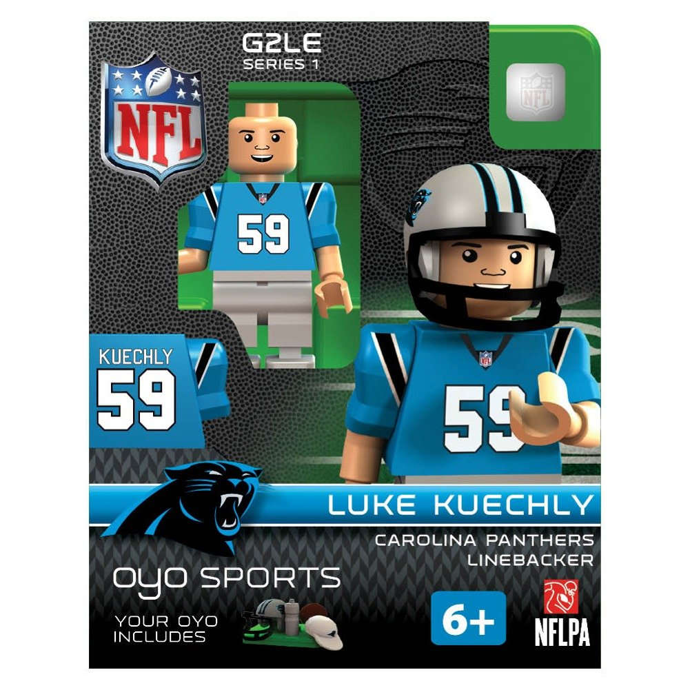 Amazon 1 X Luke Kuechly NFL Carolina Panthers Oyo G2S1