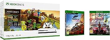 Xbox One S 1TB Minecraft + Forza Horizon 4 + The Crew 2