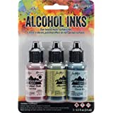 Adirondack Lights Alcohol Ink .5oz 3/pkg-countryside-shell Pnk/willow/cloudy