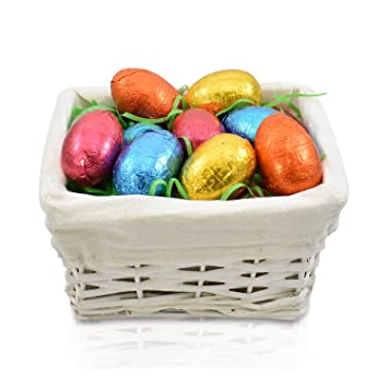 Amazon easter egg basket 15 delicious easter eggs perfect easter egg basket 15 delicious easter eggs perfect gift for kids negle Choice Image