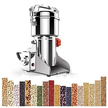 Máquina de molienda de granos, Tipo de oscilación Amoladora Molino Harina de acero inoxidable Comercial