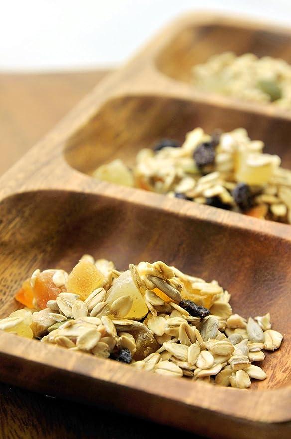 muesli de frutas tratan una bolsa de 100g Reino Unido la producci?n de harina de avena de grano grande uso: Amazon.es: Alimentación y bebidas