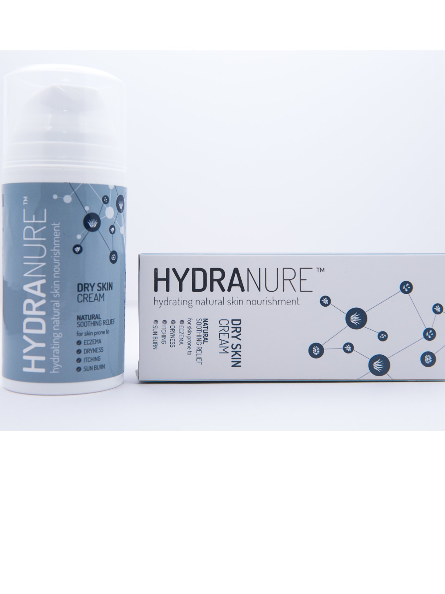HydraNure Natural Organic Eczema Treatment for Babies 3.4fl oz/100ml - Heals, Soothes & Protects the Skin - Best Remedy for Baby Eczema, Dry Skin, Itchiness, Adult Eczema, Psoriasis, Rosacea, Sunburn.
