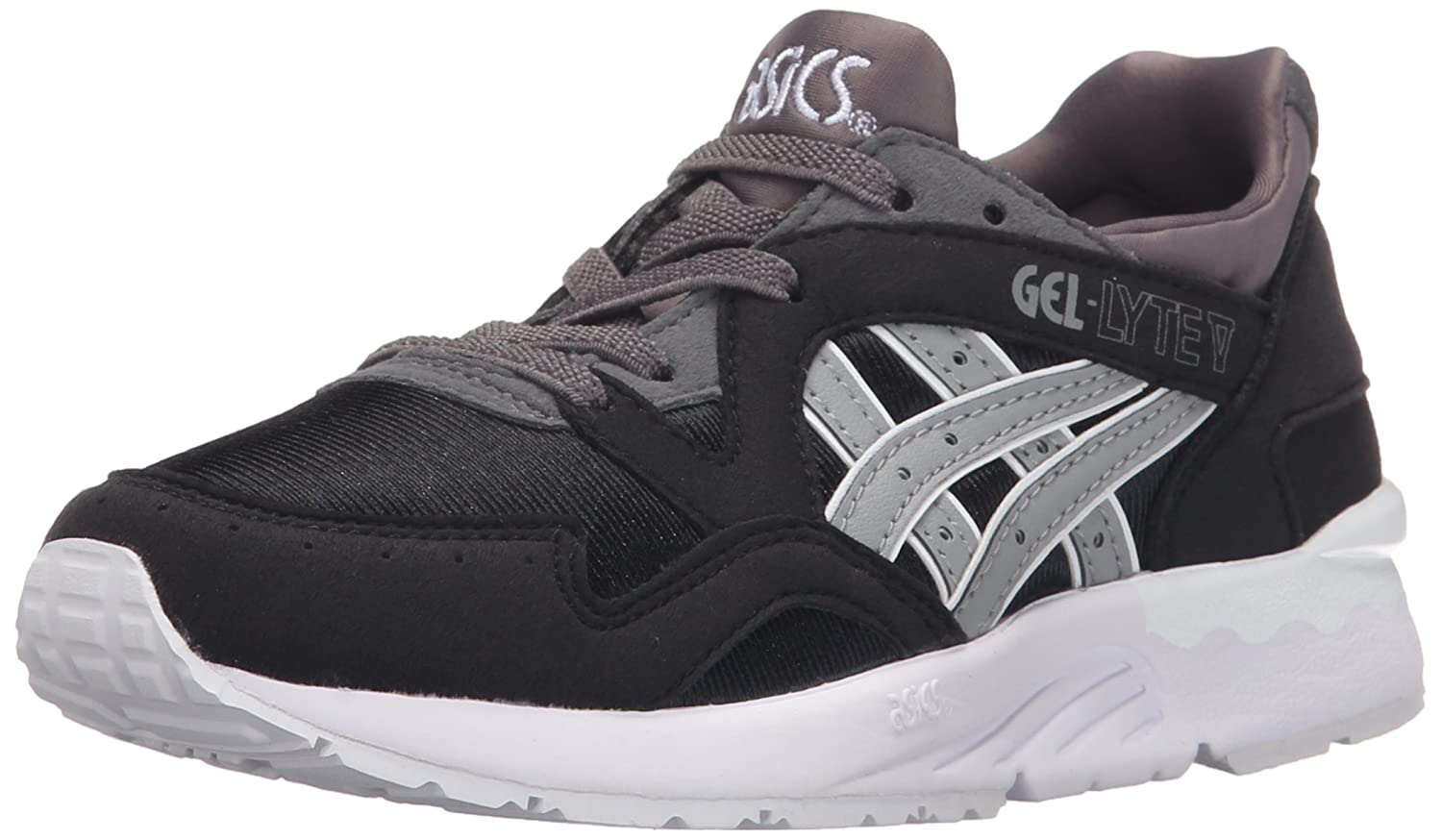 Amazon.com | ASICS Onitsuka Tiger Kids Boy's Gel-Lyte V PS (Little Kid)  Black/Medium Grey 3 Little Kid M | Sneakers