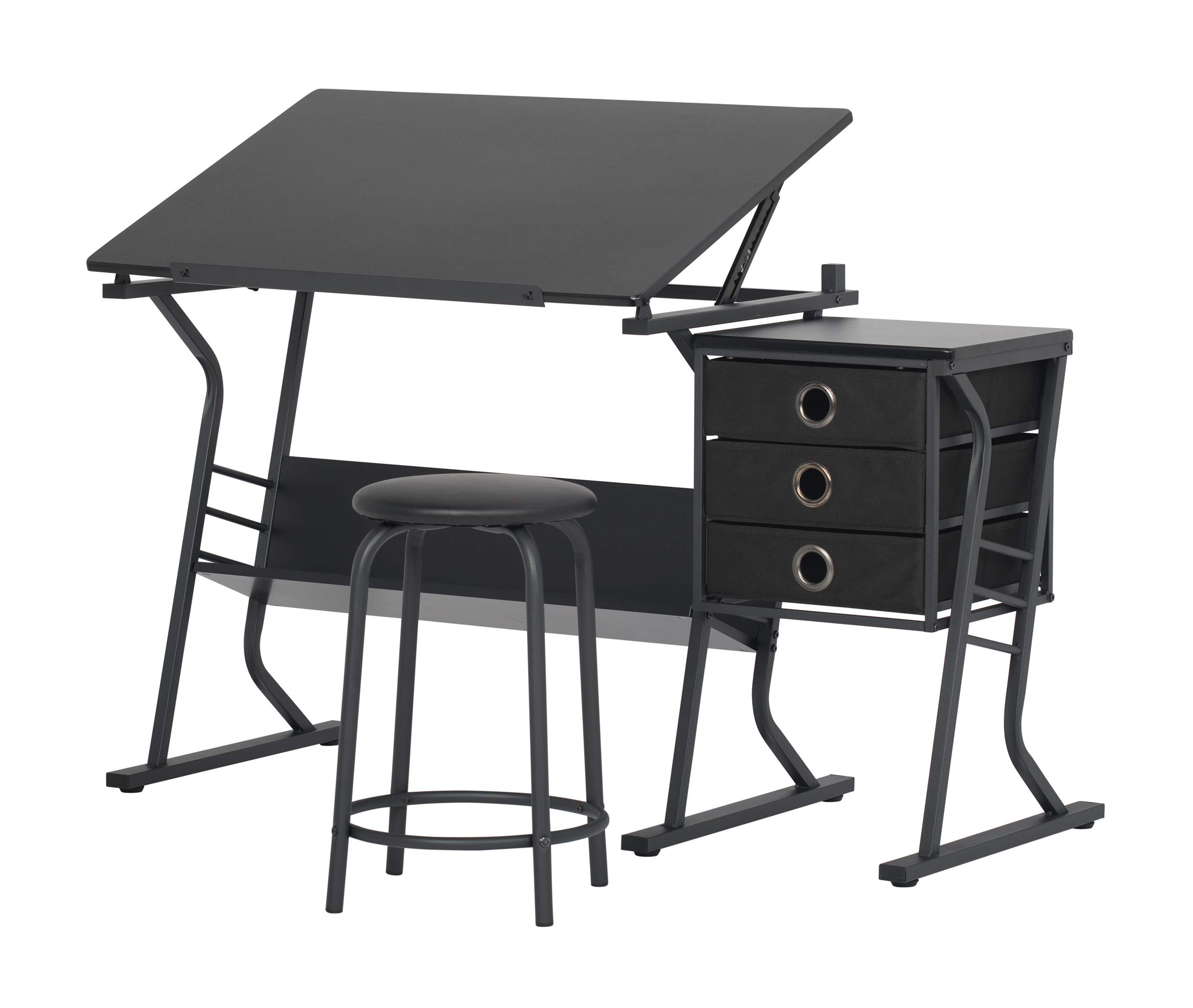 STUDIO DESIGNS Eclipse Craft Center in Black / Black 13365 by SD STUDIO DESIGNS