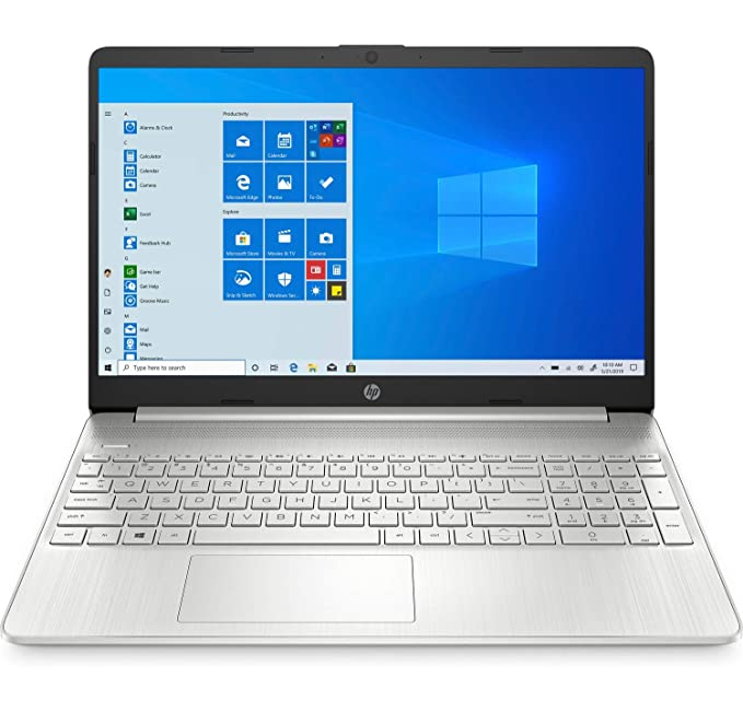 "HP 15s-fq1111ns - Ordenador portátil de 15.6"" FHD (Intel Core i5-1035G1 , 12 GB RAM, 1 TB SSD, Intel UHD Graphics, Windows 10 Home 64) plata natural - Teclado QWERTY Español"