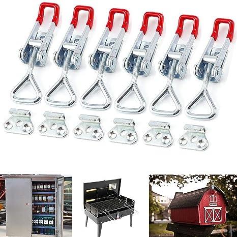 6 piezas Abrazadera de palanca 100Kg 220Lbs Capacidad de ...