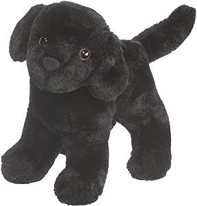 Douglas Abraham Black Lab Dog Plush Stuffed Animal