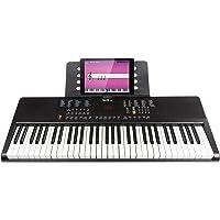 RockJam Clavier électrique portable 61 touches avec alimentation, support pour partitions et application simple pour piano