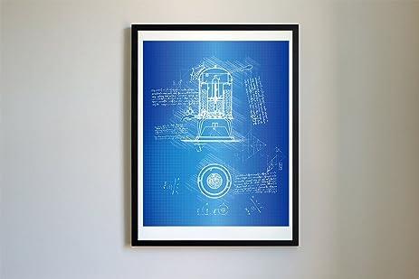 Amazon french press patent art 105 da vinci patent prints french press patent art 105 da vinci patent prints poster artwork malvernweather Images
