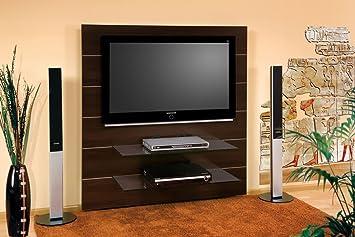 Tv Wand Hn 111 Walnuss Wenge Tv Rack Lcd Inkl Tv Halterung Amazon