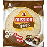 Mission Foods Wholegrain 8 Wraps,