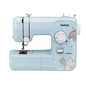 Brother RLX3817A blue sewing machine