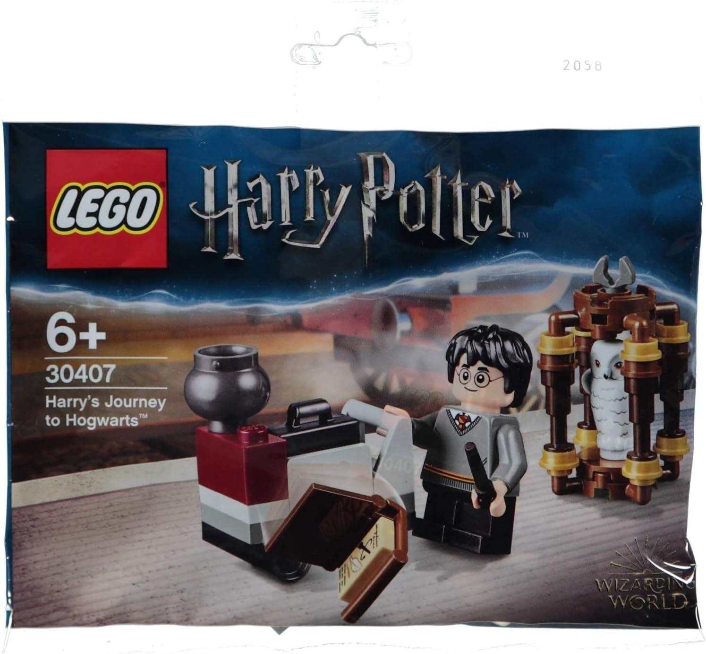 Lego Harry Potter 2018 SETS LUGGAGE CART WITH SUITCASE /& CAULDROD