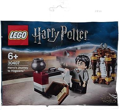 Lego Harry Potter 30407 Harry S Journey To Hogwarts Amazon De Spielzeug