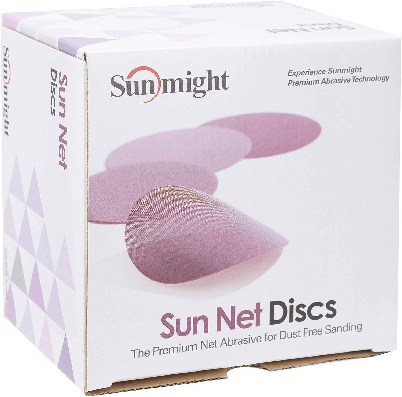 Sunmight 82118 Sun Net 5 Grip Disc Grit 600 Abrasives