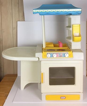Amazon.com: Little Tikes Vintage Party Kitchen Rare Child Size: Toys ...