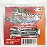Orange Snagging Hooks (6 Count), 10/0, Red