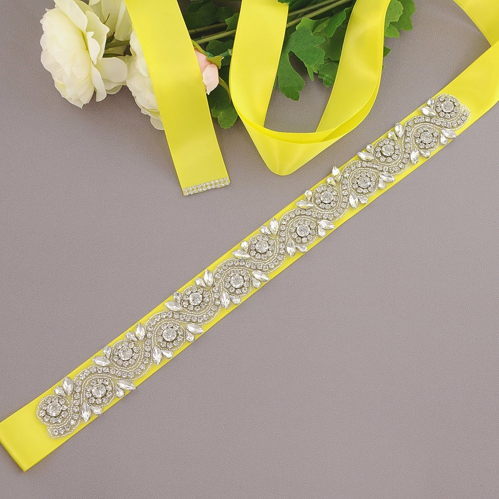 wedding Sashes,Bridal Sashes,Wedding Belts Sash Azaleas Womens Crystal belt