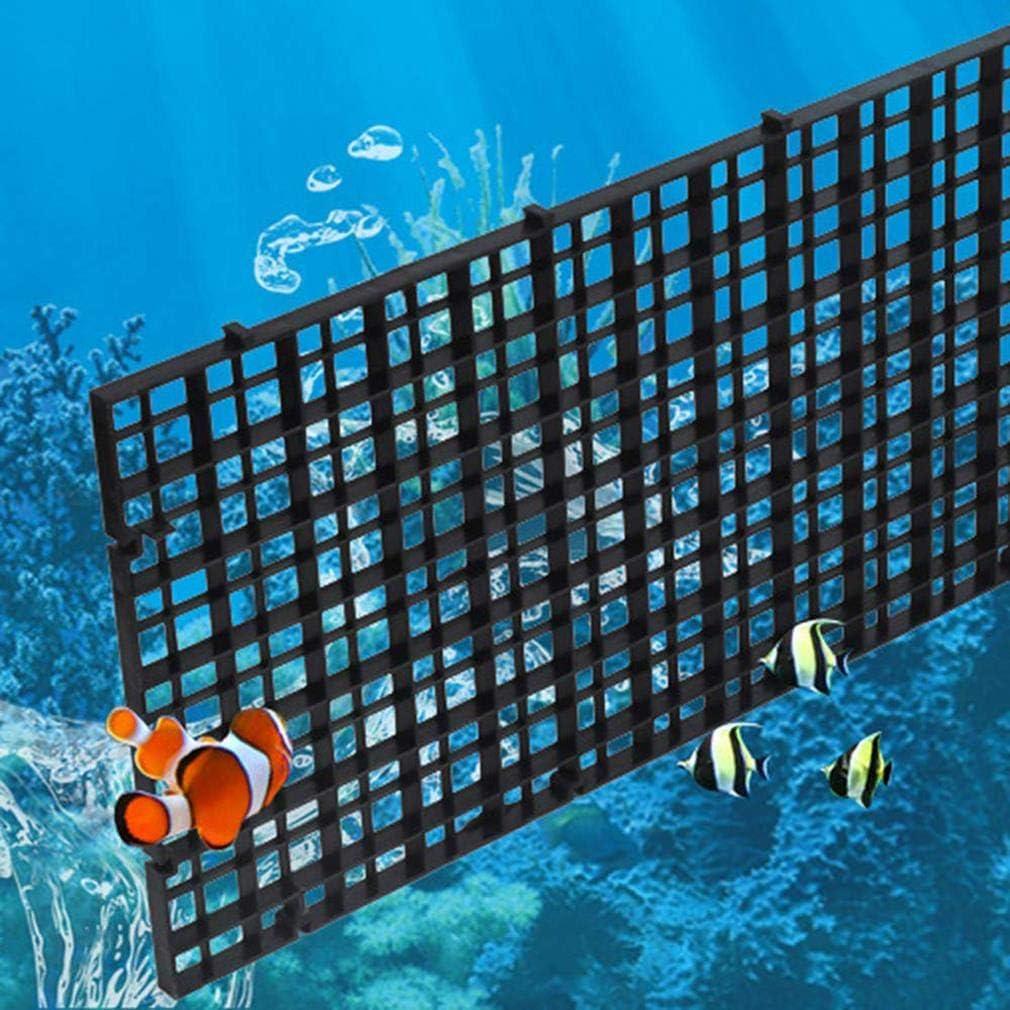 CoscosX 50 Pcs 2 Ways Transparant Aquarium Air Valve Connectors Plastic Inline Splitter Pump Tubing Connectors Fish Tank Pond Air Line Connector for Fish Tank 4MM Airline Tube