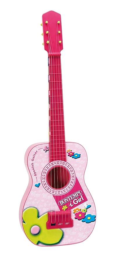 Bontempi Guitarra española con tabla armónica: Amazon.es: Juguetes ...