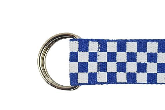 Amazon.com: Jollymoda - Cinturón con hebilla y anilla en D a ...